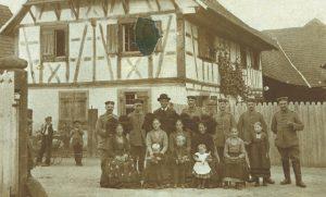 Famille Riedinger en 1914